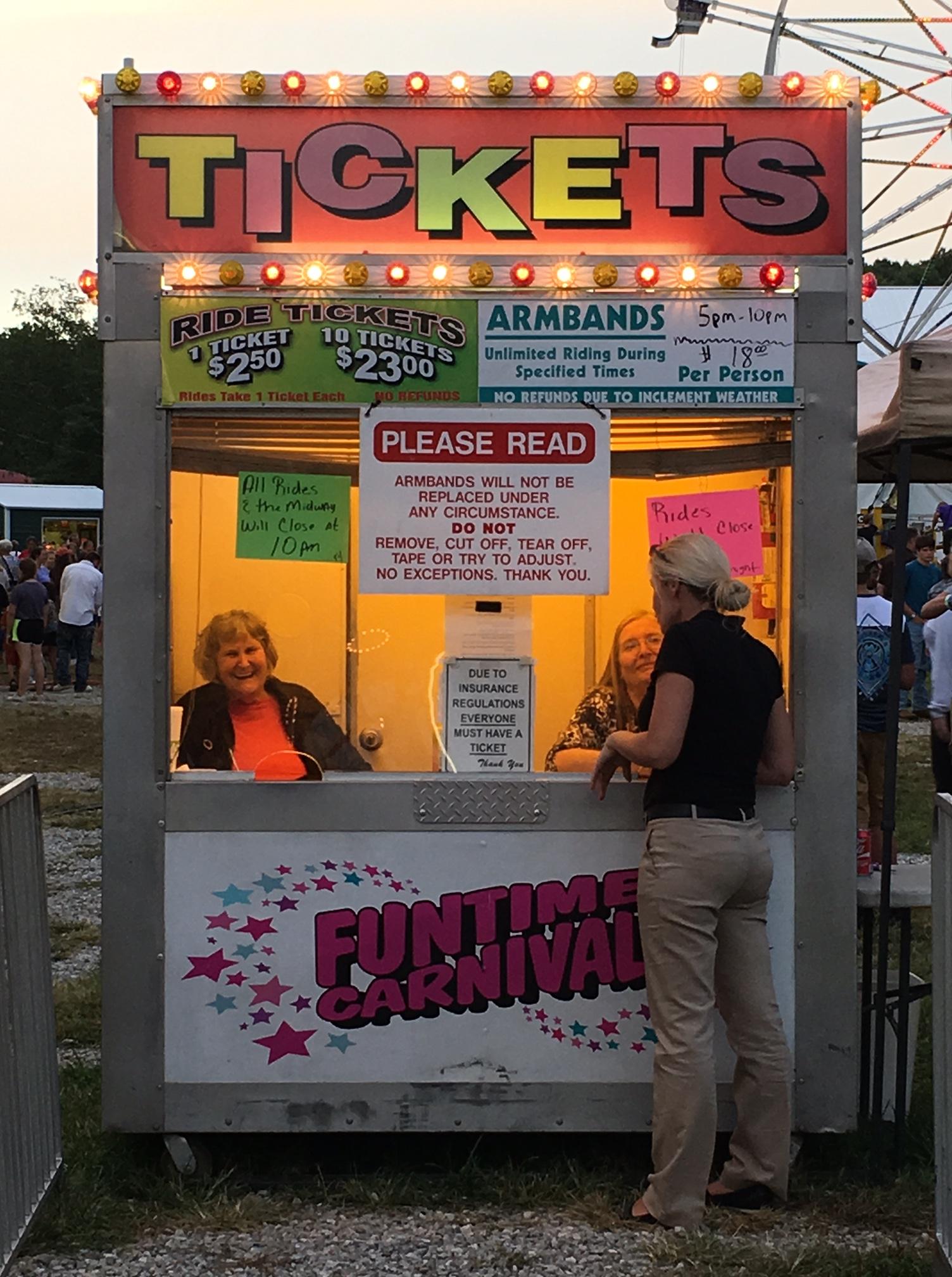 Fair Ticket Booth